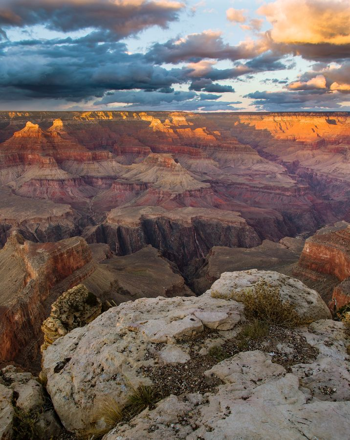 From Hopi point, Grand Canyon National Park.
