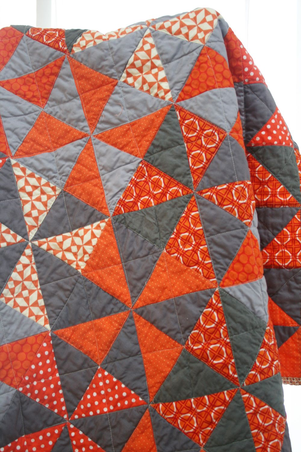 one color & grey pinwheel. | Baby | Pinterest | Colour gray, Lap ... : one color quilts - Adamdwight.com