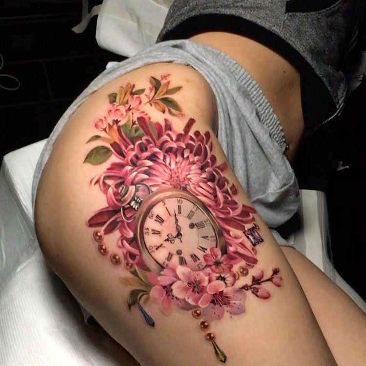 Tatuajes En Los Gluteos