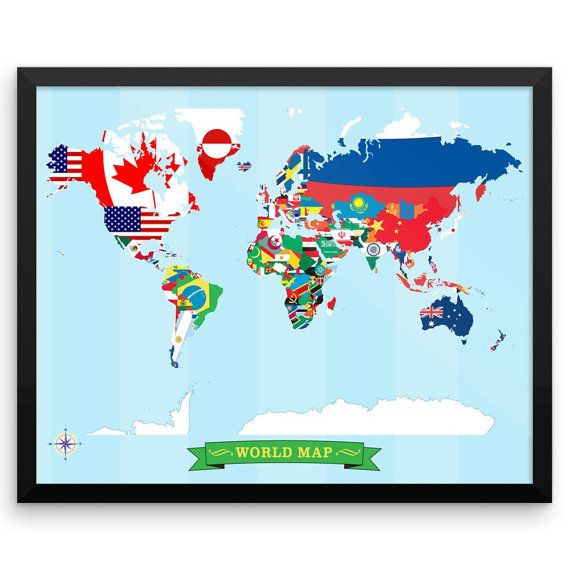 Map made of flags our first map made of love the colors map made of flags our first map made of love the colors worldmap custommap flagworldmap art pinterest worldmap and walls gumiabroncs Gallery