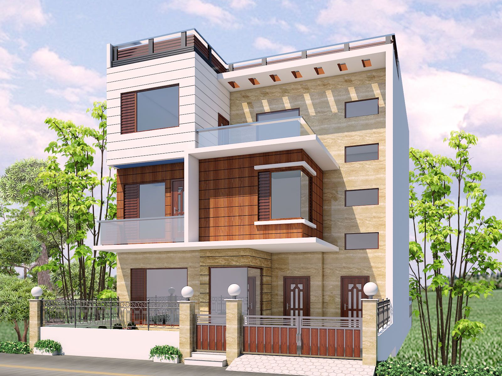 Front Elevation Of Houses In Chandigarh : Ef d bf f a b g