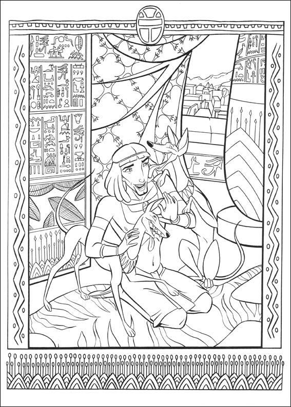 The Prince Of Egypt Coloring Pages Spiderman Coloring Coloring