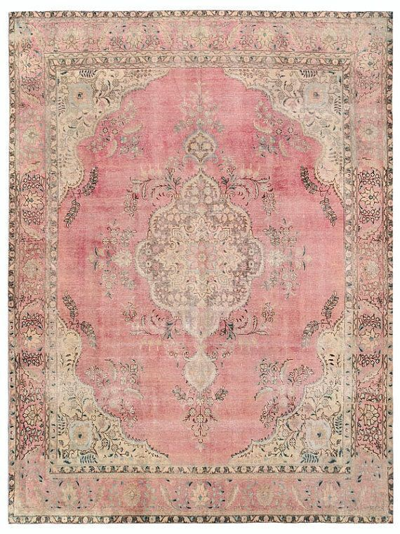 ️antique Pink Rug Vintage Rugs Rugs On Carpet