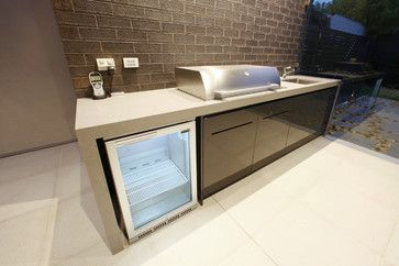 Built In Bbq Home Design Decorating And Renovation Ideas On Houzz Australia Outdoor Bbq Kitchen Outdoor Kitchen Design Outdoor Kitchen Cabinets