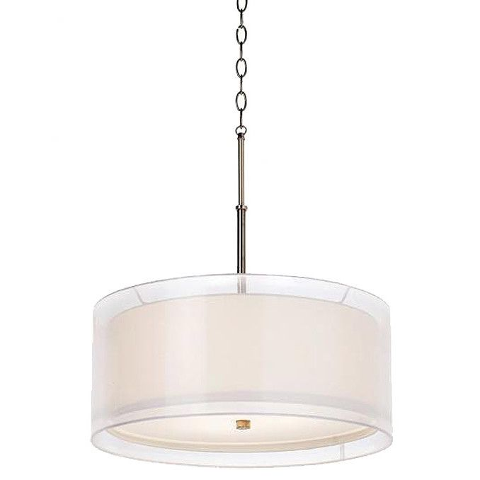 Pacific Coast Lighting Seeri 3 Light Drum Pendant Drum Pendant