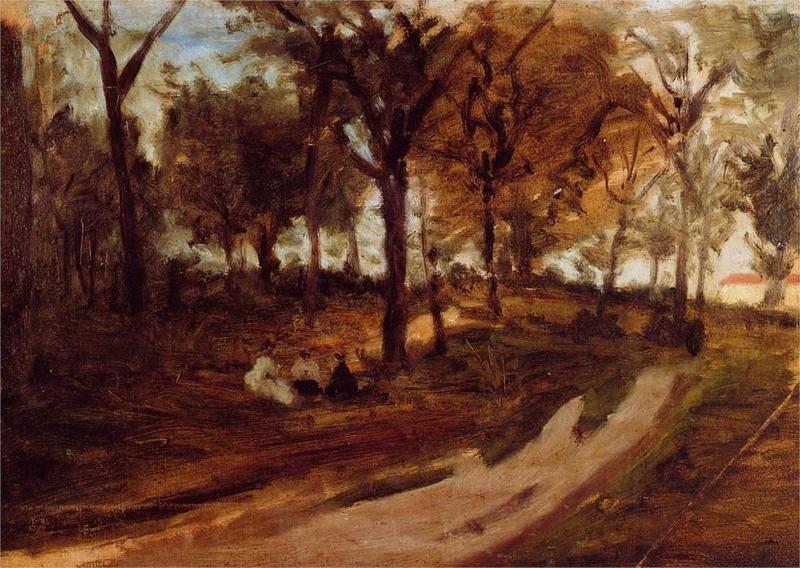 In the Forest - Saint Cloud, Paul Gauguin, 1873