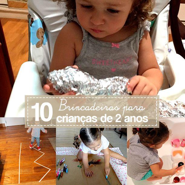 10 Melhores Brincadeiras Para Criancas De 2 Anos Brincadeiras