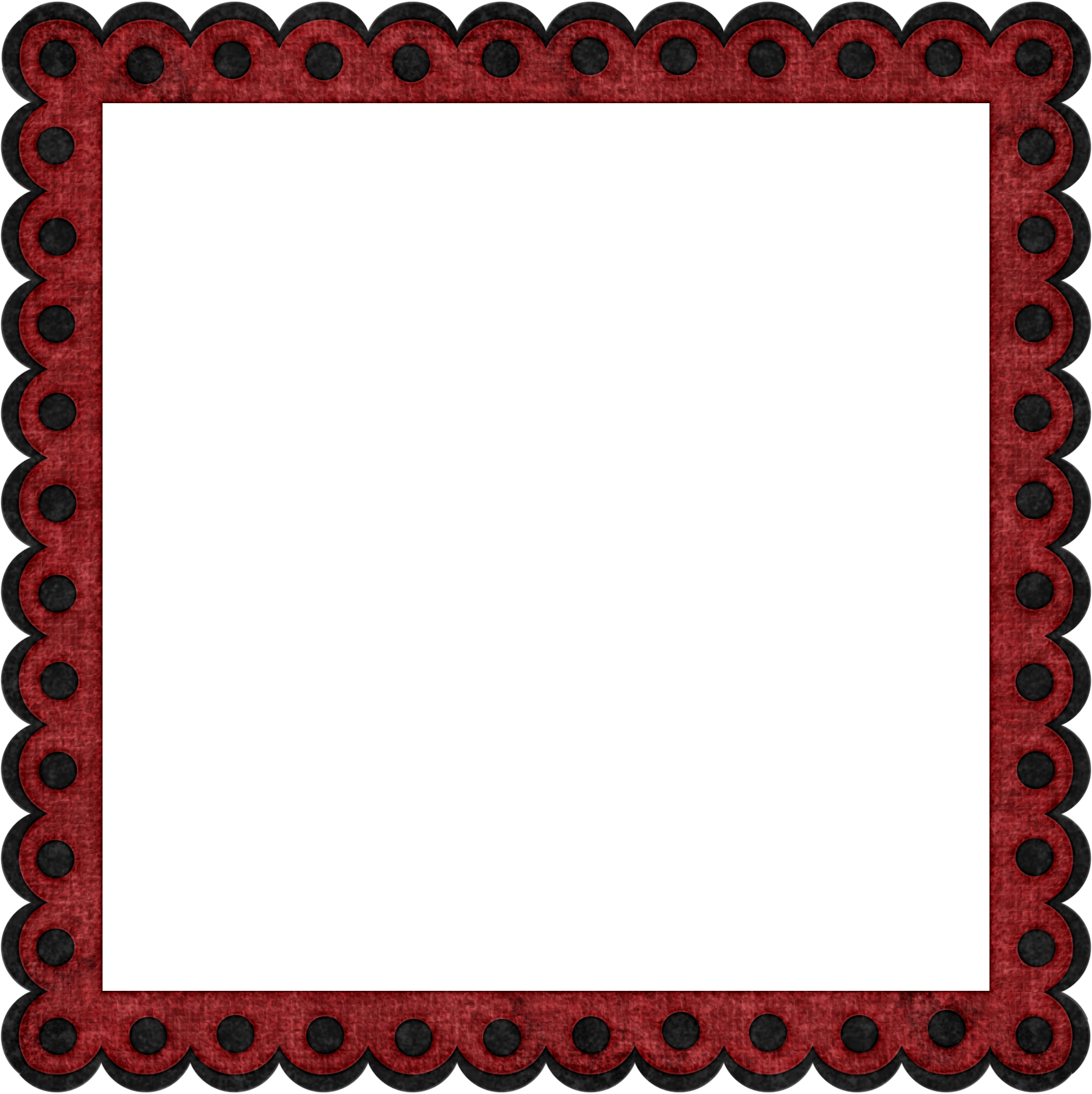 Cute with ladybug theme | Frames for Designing and Scrapping ...
