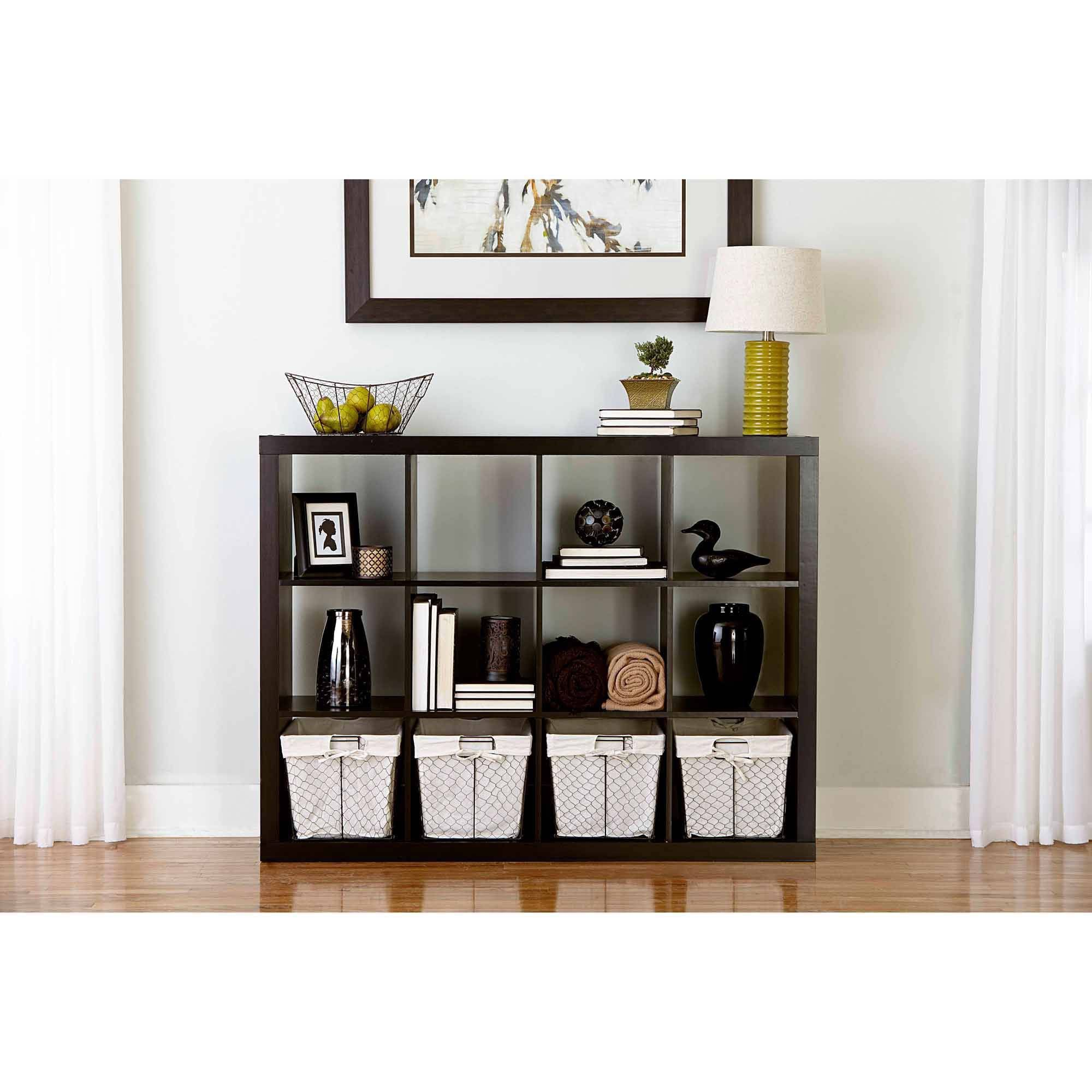 Better Homes And Gardens 4 Cube Organizer Black