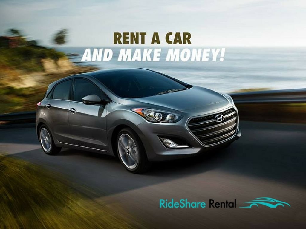 Find a rental car to drive for uber lyft hyundai