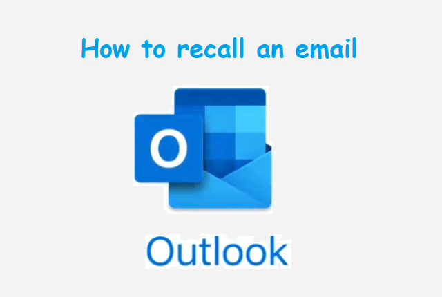 Recall An Email In Outlook Web App In 2020 Web Connect Web App Outlook