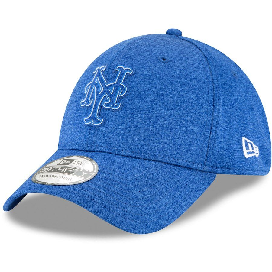 80d37ce7d32 Men s New York Mets Under Armour Royal MLB Shadow Airvent Adjustable ...