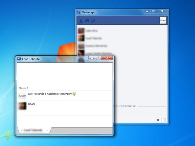 Facebook Messenger ganhar versão para Windows