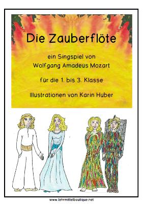 Mozarts Zauberflöte Die Zauberflöte The Magic Flute čarobna
