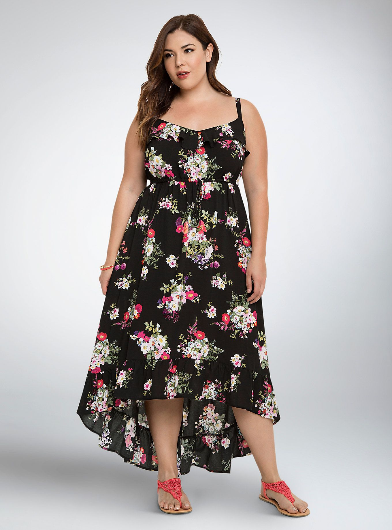 One size maxi dresses