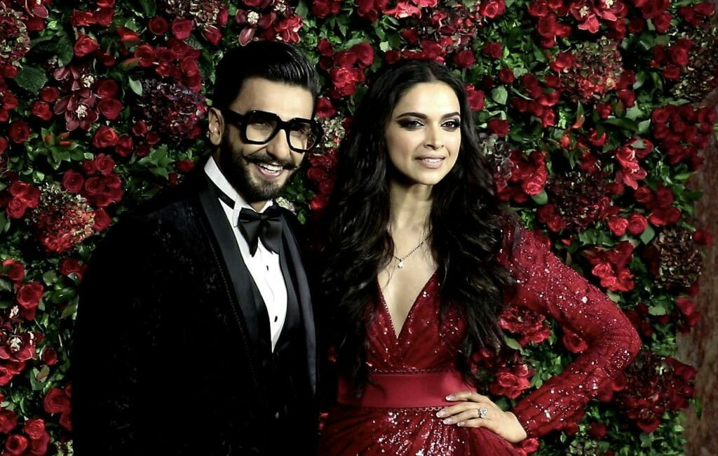 Deepika Padukone and Ranveer Singh at their wedding ...