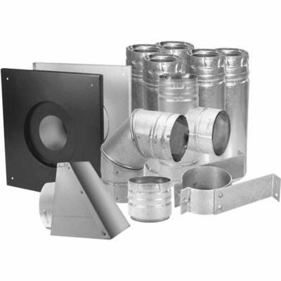 Dura Vent 3 In Pelletvent Installation Kit Pellet Stove Stove Vent Multi Fuel Stove