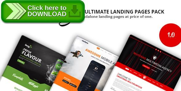 [ThemeForest]Free nulled download Mustang Landing Pages Pack from http://zippyfile.download/f.php?id=22716 Tags: agency, app, business start-up, campaign landing, creative agency, drink, food product, mobile app, personal portfolio, product, promotional l