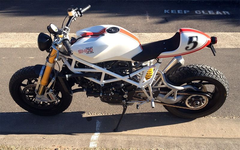 Ducati St2 Australia Custom Build Pintered It Before From A Diffe Angle