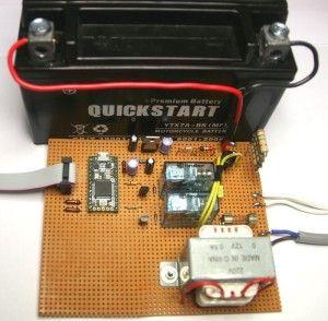 Diy Electronic Rfid Door Lock With Battery Backup Diy Electronics Electronics Projects