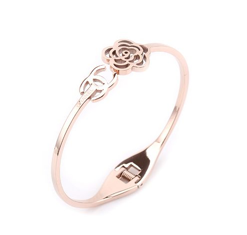 Cc Camellia Chanel Bracelet 18k Rose Gold Personal