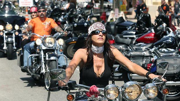 Getting Ready For A Biker Rally The Difference Between