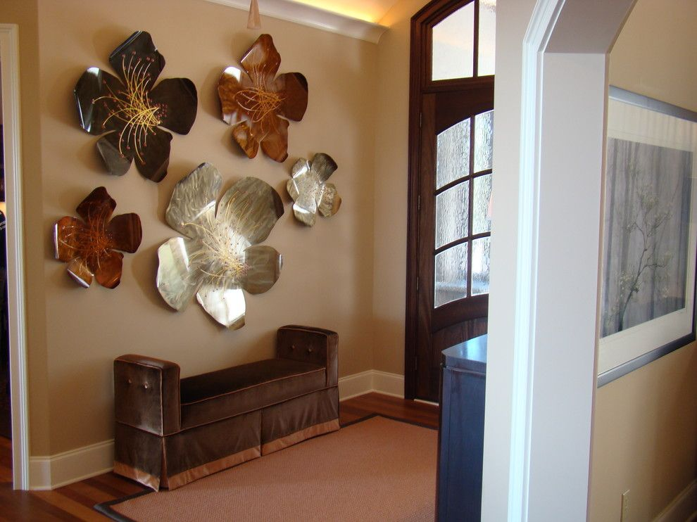 Houzz Wall Decor And Great Narrow Bench For Entry Way Foyer