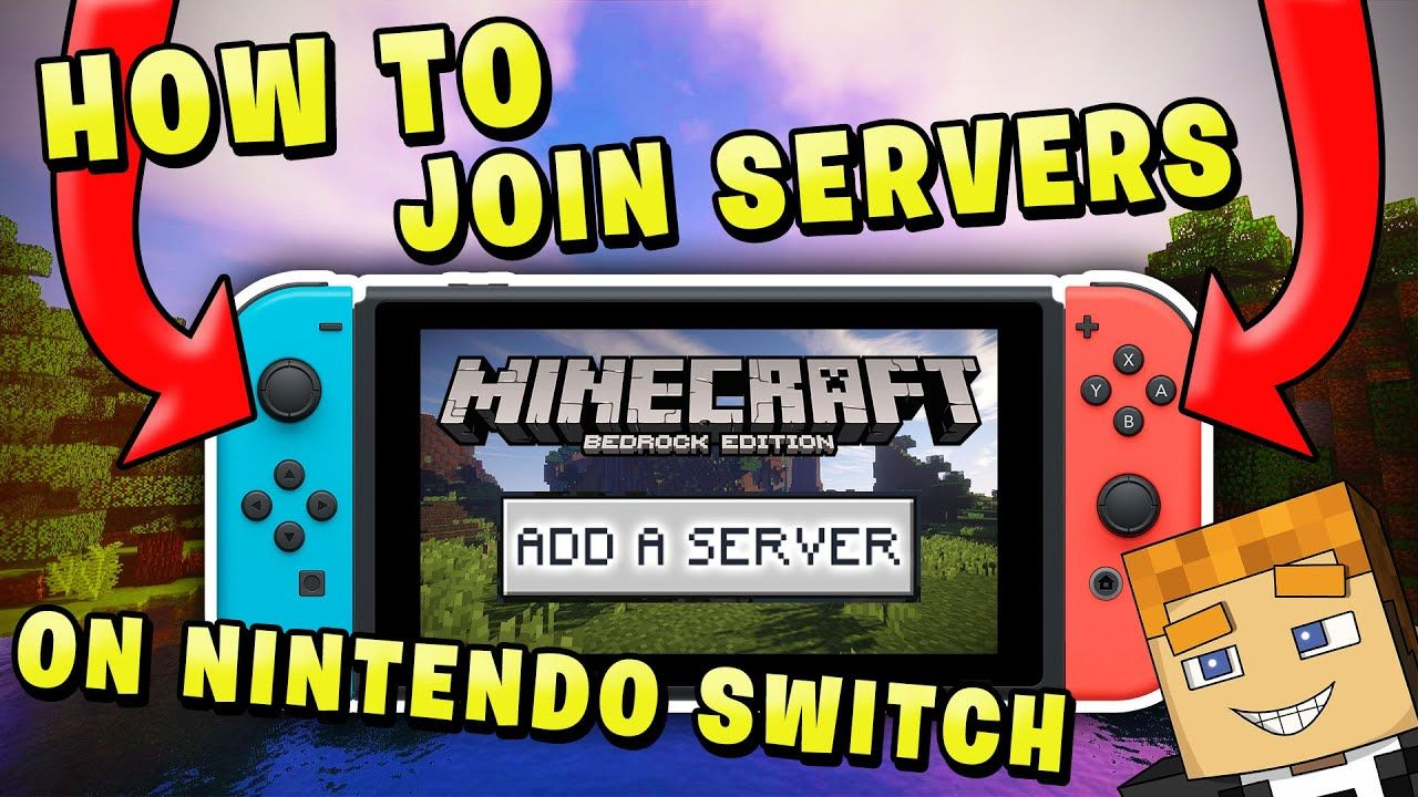 How to Join Servers on Nintendo Switch (Minecraft Bedrock) in 2021