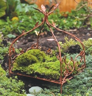 Copper Canopy Fairy Bed