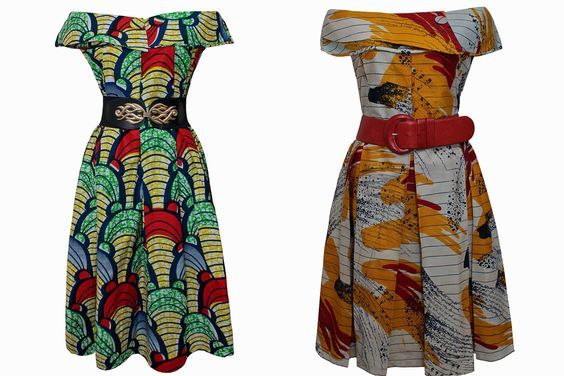 Kankam Kupata Dress #kitengedesigns