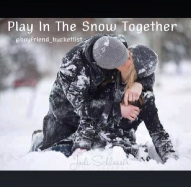 Play In The Snow Together