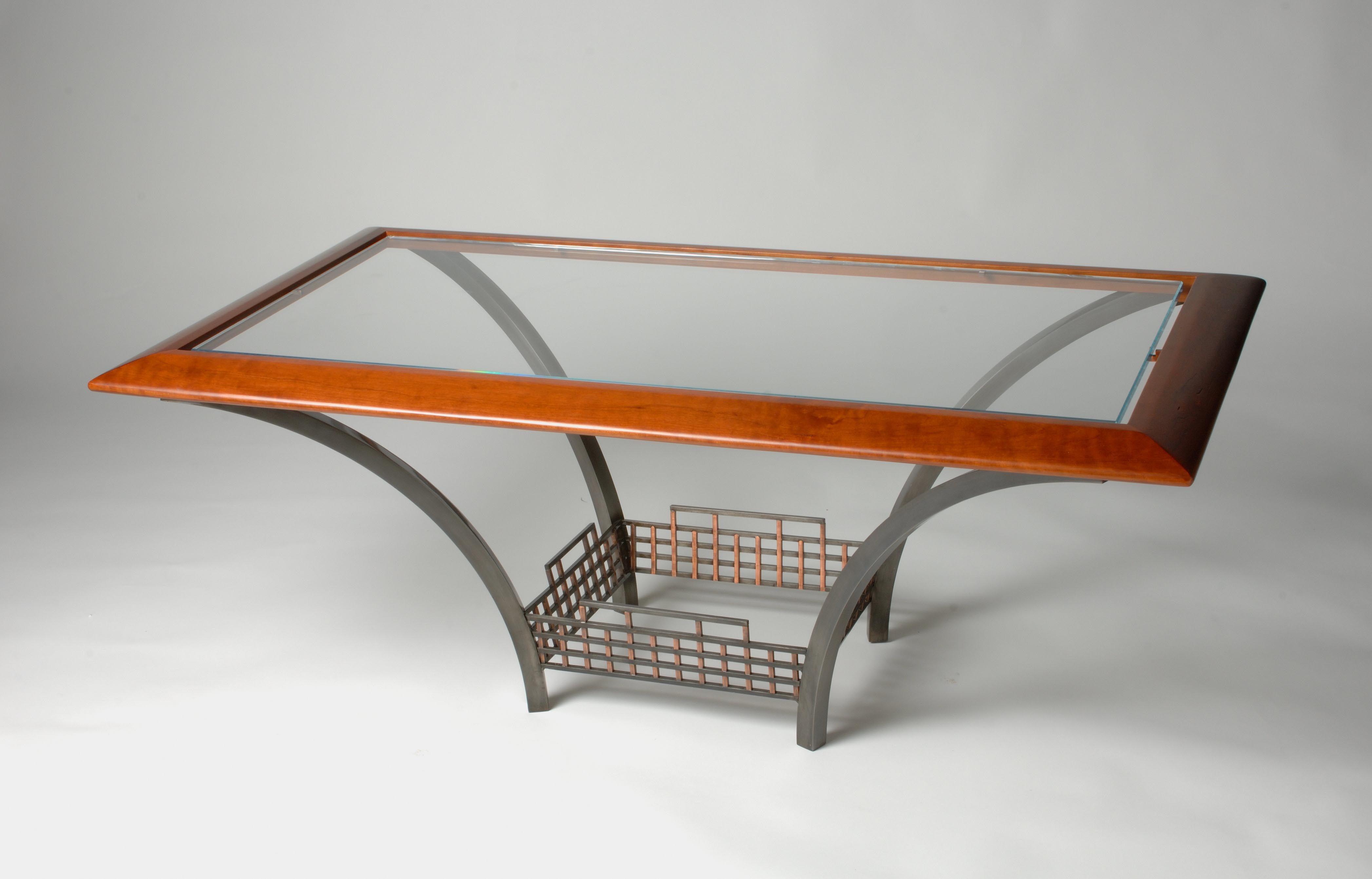 Good Custom Made Glass Coffee Table