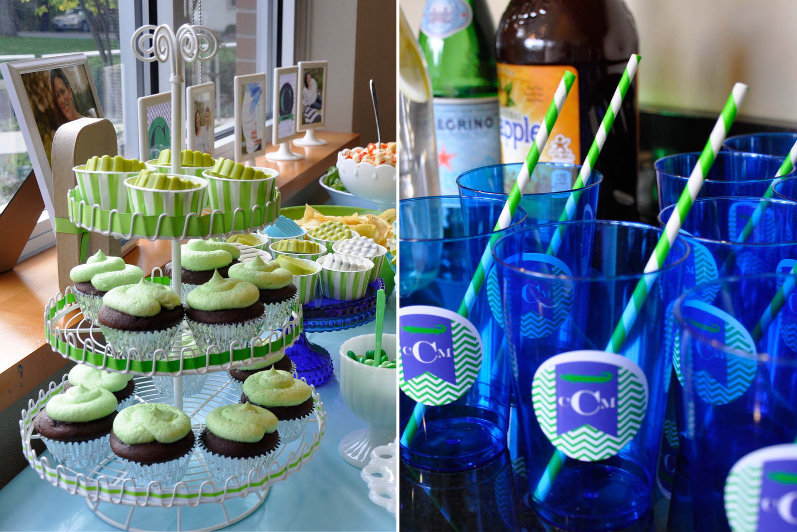 Baby Shower Themed Drinks ~ Curly sue alligator themed baby shower curly sue