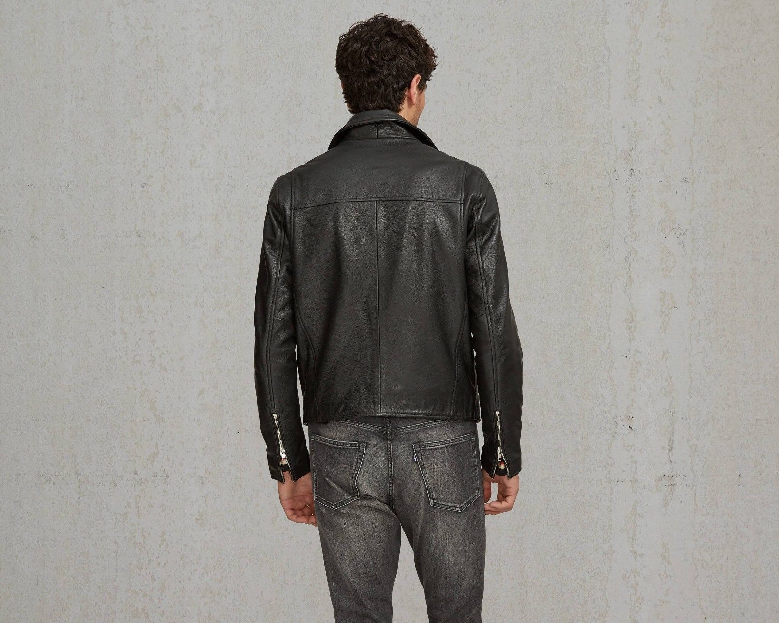 Levi's® Made & Crafted™ Men's 264590000 leather Moto
