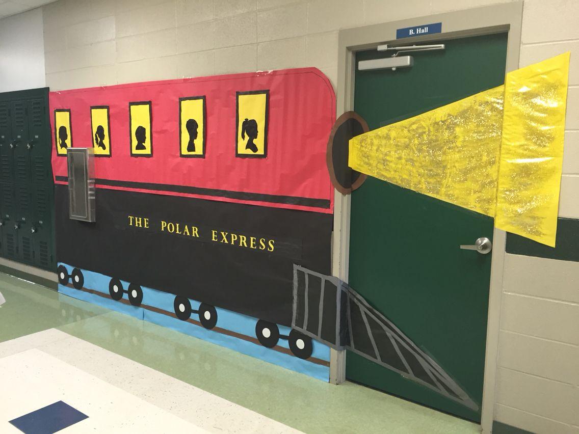 My Polar Express Christmas Door Wall Classroomdoor