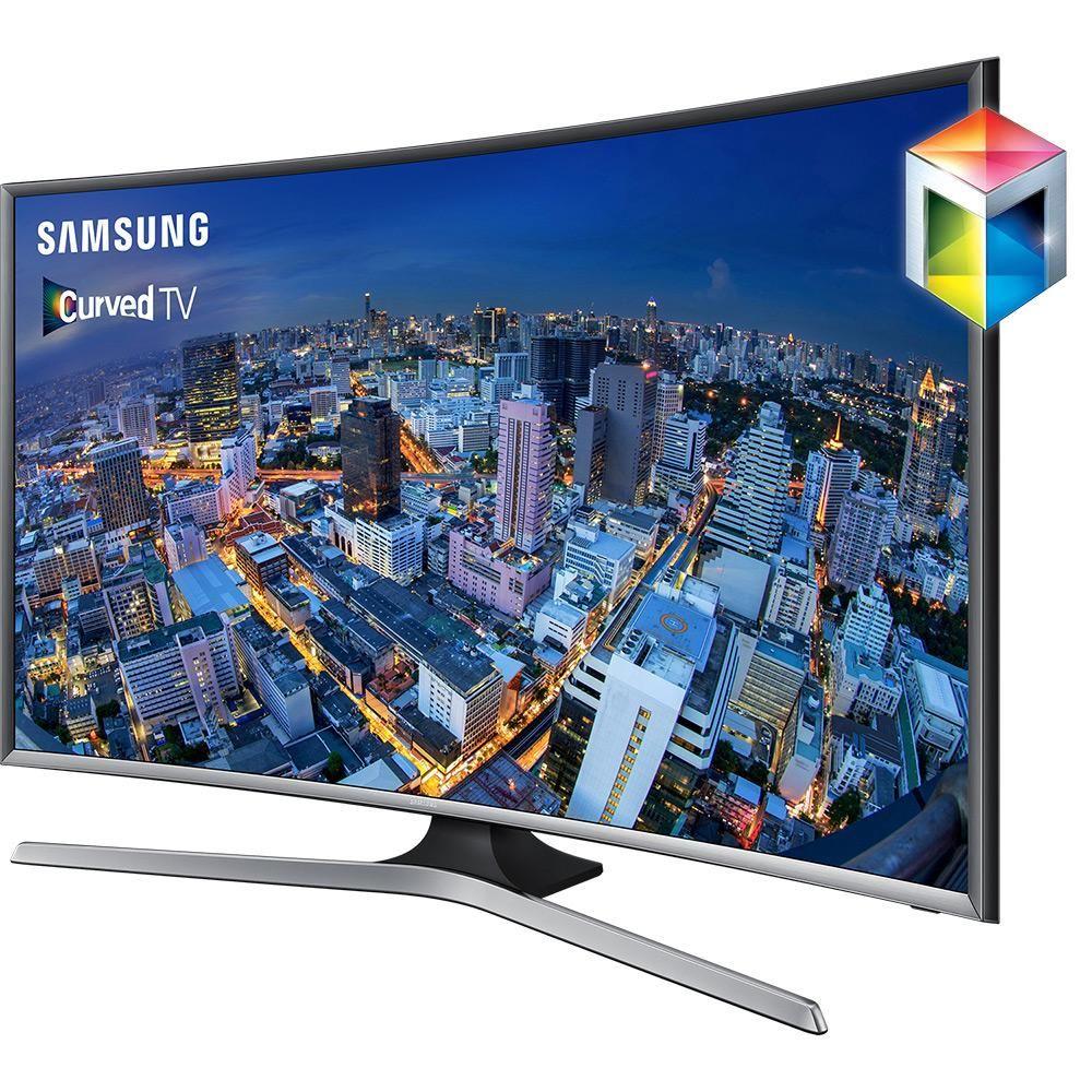 7b6225c3e Smart TV LED 48 Samsung Tela Curva UN48J6500AGXZD Full HD com Conversor  Digital 4 HDMI 3