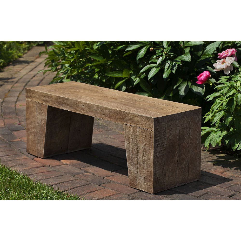 contemporary rustic modern furniture outdoor. Barn Board Garden Outdoor Bench For Those Who Like A Rustic Wood Look But Contemporary Decor Modern Furniture Y