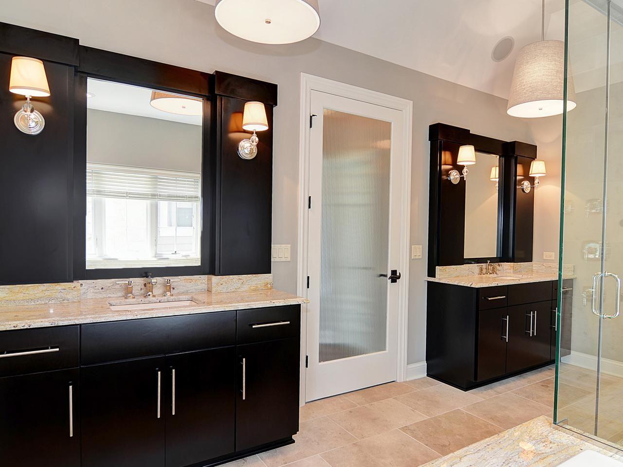 Photo Page Photo Library Hgtv Bathroom Design Black Black Bathroom Transitional Bathroom