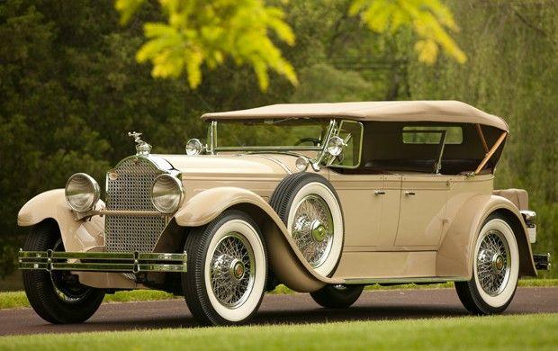 1929 Packard 640 Dual Cowl Phaeton Packard Motor Car Company