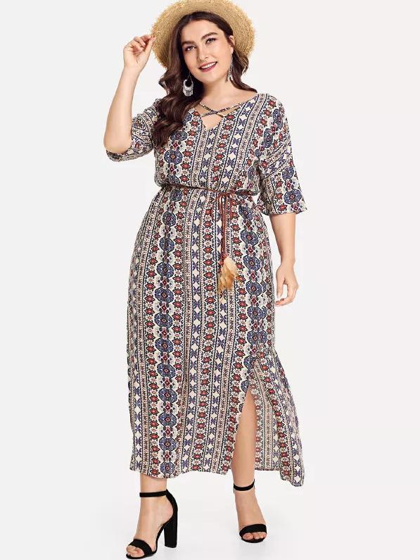 6828f131ff1 Our Vanessa Maxi Dress features  V-neck
