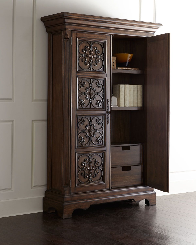 Ambella San Marcos Entertainment Cabinet Cabinet Entertainment Cabinet Furniture