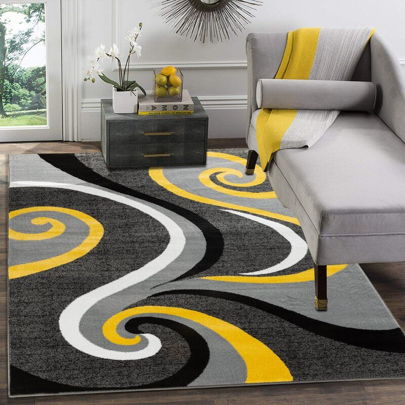 Pin On Grey And Yellow Living Room