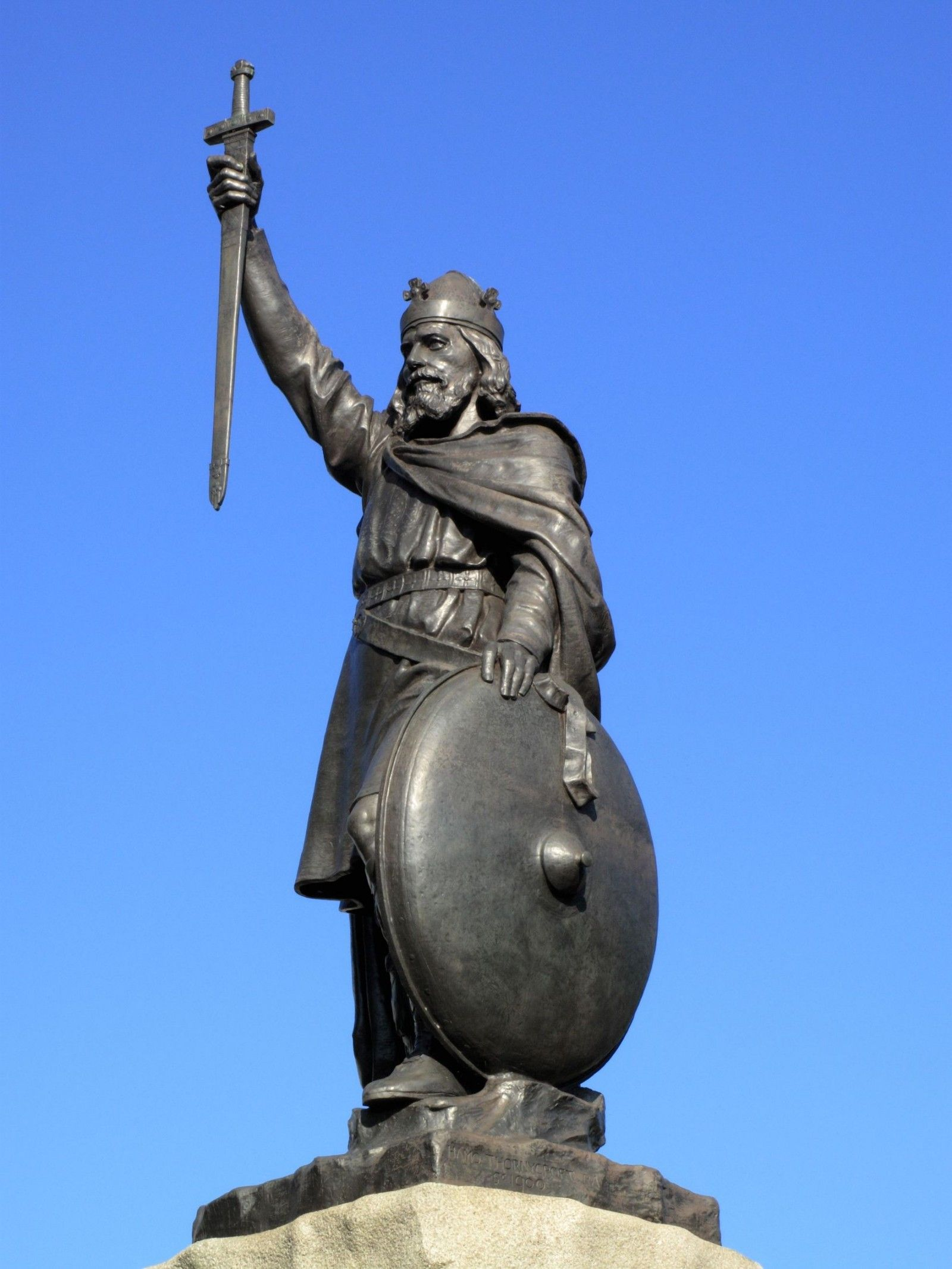 King Alfred S Statue