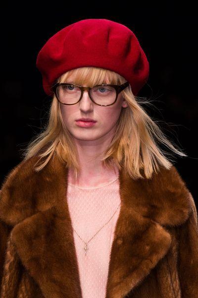 ff5a7151a7f Défilé Gucci automne hiver 2015 2016 Fashion Week de Milan compte ...