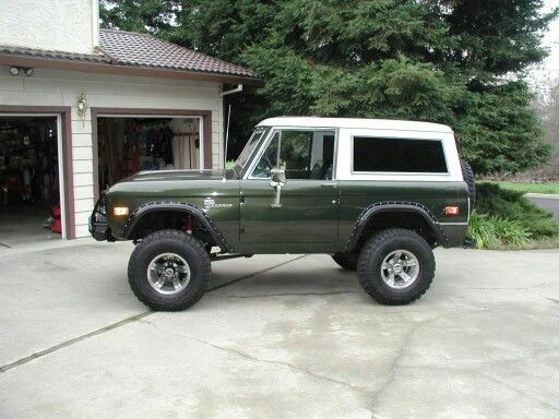 Dark Green Bronco