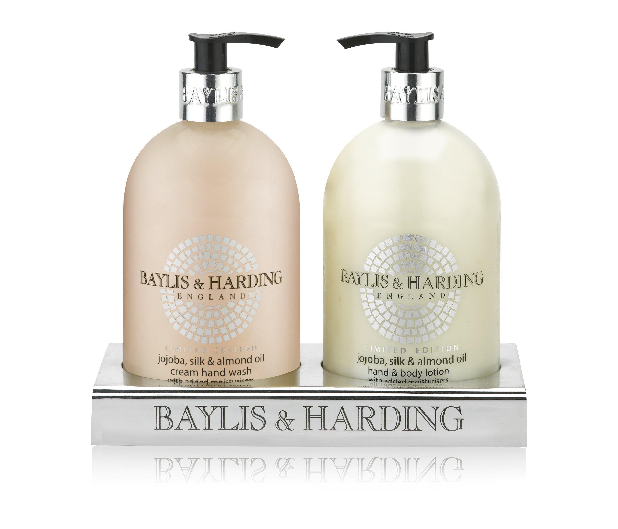 Baylis harding jojoba silk and almond oil 2 bottle