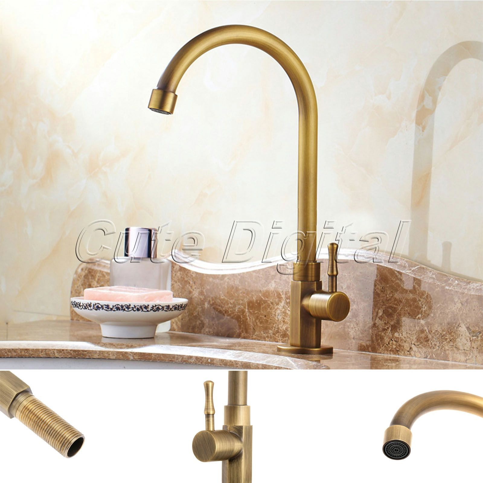 Aliexpress.com : Buy Antique Brass Luxury Bathroom Sink Faucet ...