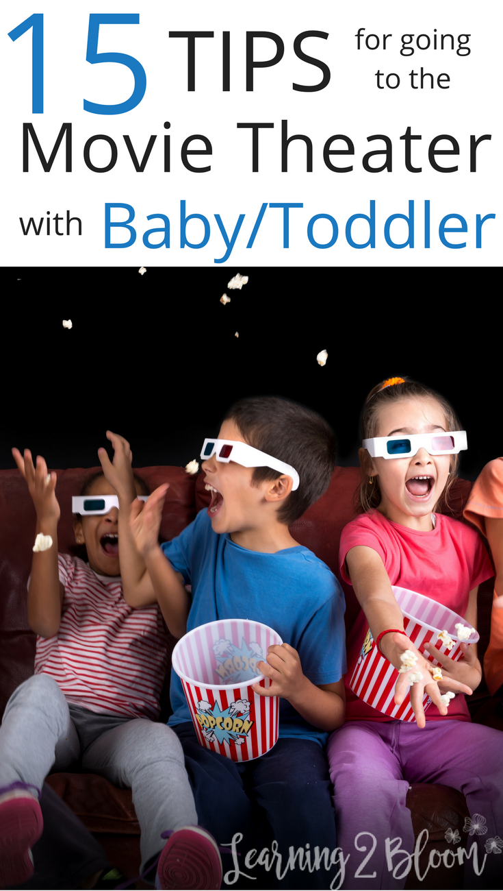 Should you take your baby/toddler to the movie theater