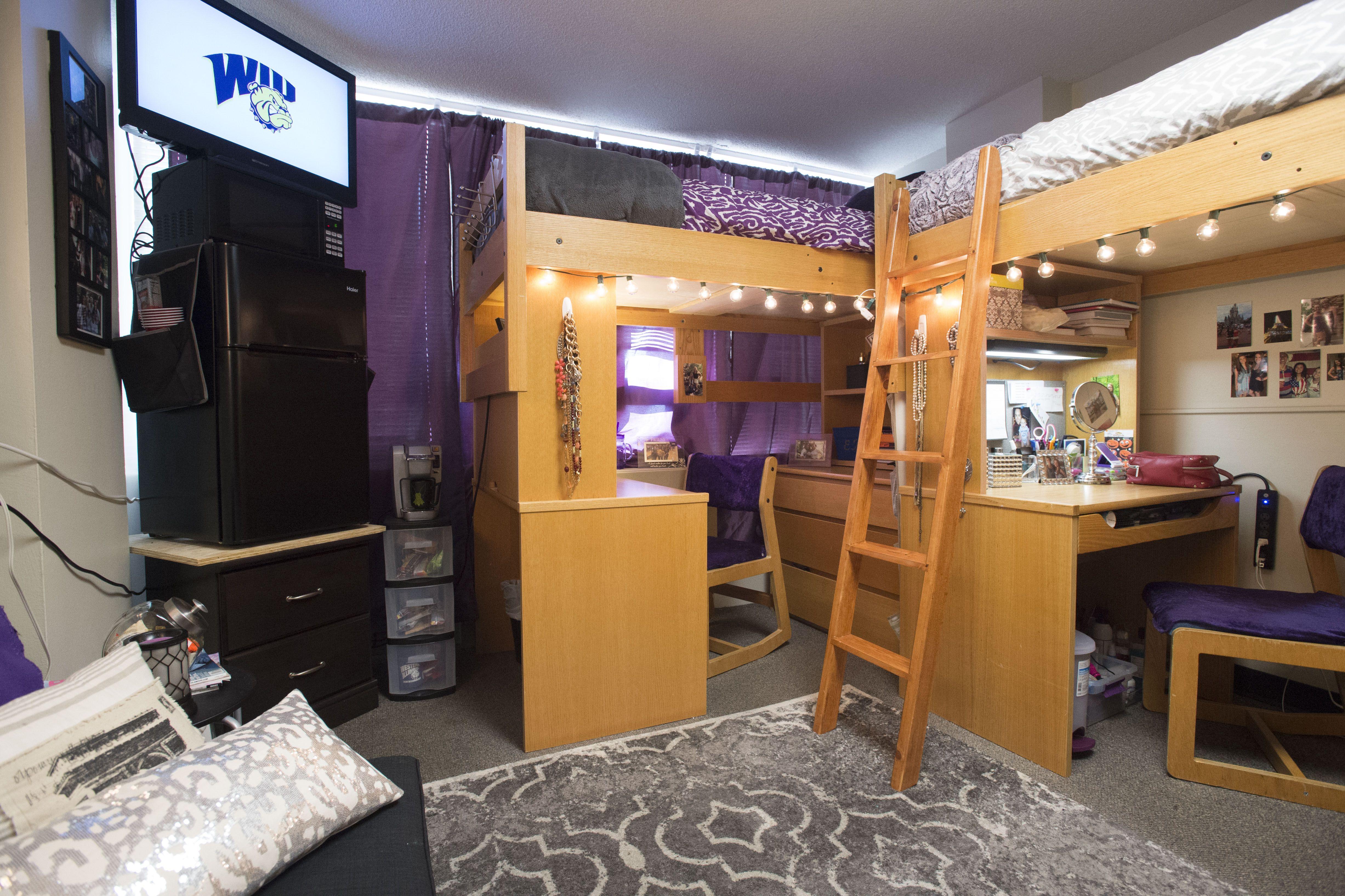 Charming Bayliss/Henninger Halls   Coolest Dorm Room Contest At Western Illinois  University! #WIU Part 13