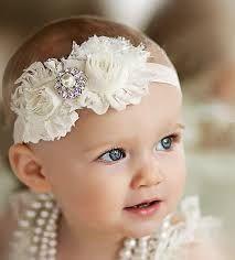 Baby /& Kinder Stirnband Haarband Kopfschmuck Taufe Schneeflocke